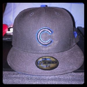 New Era Chicago Cubs Fitted Cap Size 7 1/4